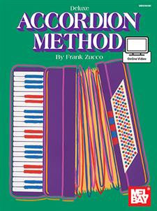 Deluxe Accordion Method (Mel Bay)