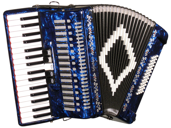 SofiaMari SM3448 48-Bass Piano Accordion