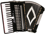 SofiaMari SM3472 72-Bass Piano Accordion