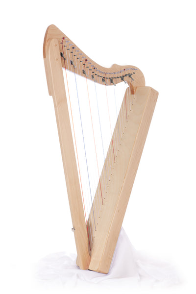 "Harpsicle ""Sharpsicle"" 26-String Folk Harp, Maple"