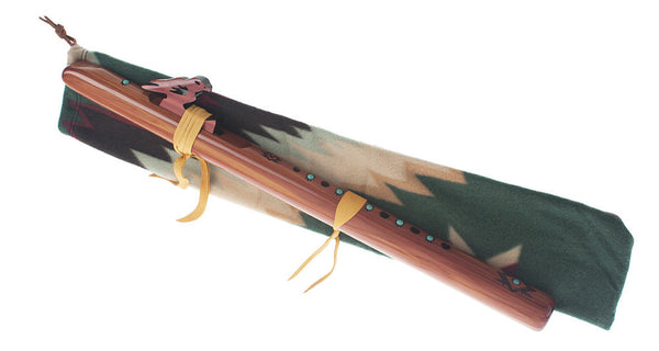 Cloth Bags for Native American-style flutes by High Spirits