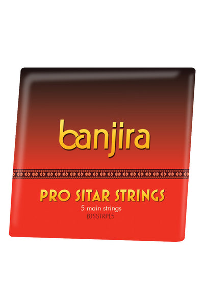 Banjira Pro 5-String Sitar String Set - Light