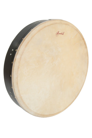 Roosebeck Tunable Mulberry Bodhrán Single-Bar 18-by-3.5-Inch - Black