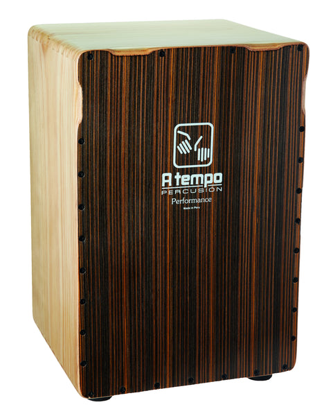 "A Tempo CJ-PERF-02 ""Java Stripe"" Performance Cajon"