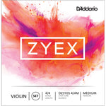D'Addario Xyex Violin Strings