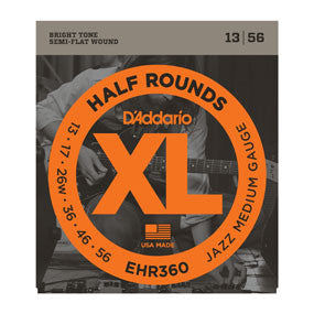 EHR360 Half Rounds, Jazz Medium, 13-56