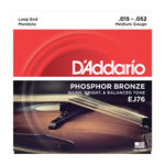 D'Addario Phosphor Bronze Mandola String Set - Medium