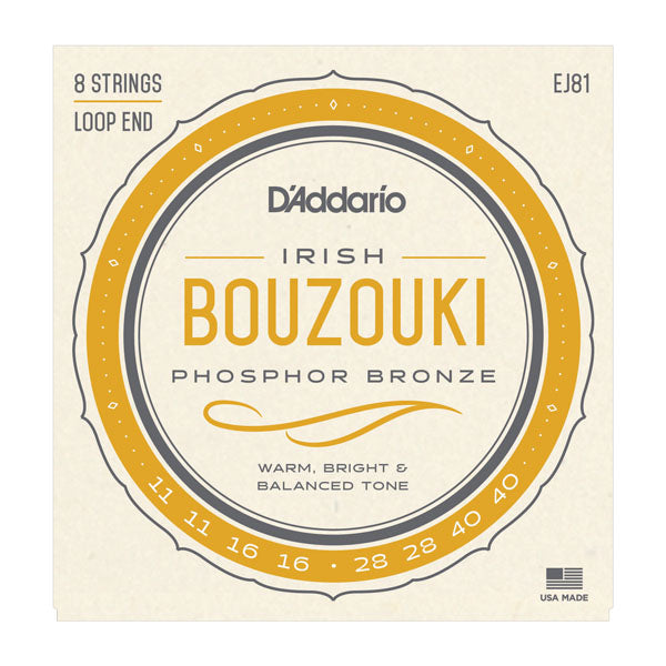 D'Addario Irish Bouzouki String Set