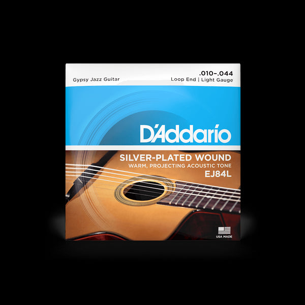 D'Addario EJ84L Gypsy Jazz Loop End Guitar String Set