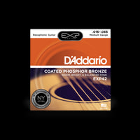 D'Addario EXP42 Resophonic Acoustic Guitar String Set
