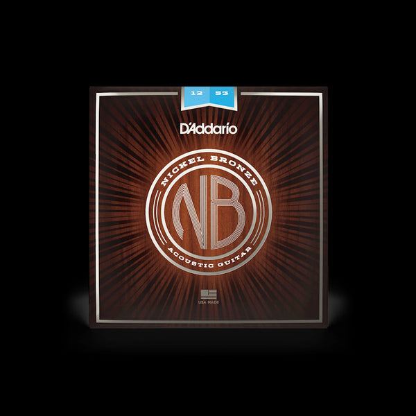 D'Addario NB1253 Acoustic Guitar String Set