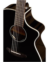 Breedlove Discovery Concert Satin Black CE Acoustic-Electric Guitar