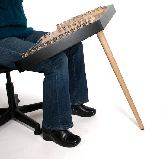 Hammered Dulcimer Playing Leg