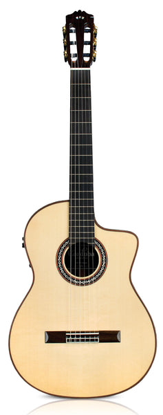 Cordoba Luthier Series Pro Negra acoustic / electric Classical Guitar