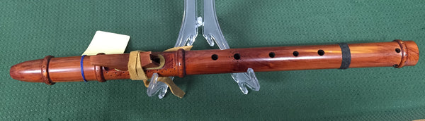 Raymond Redfeather Red Cedar A Native American Flute (used)