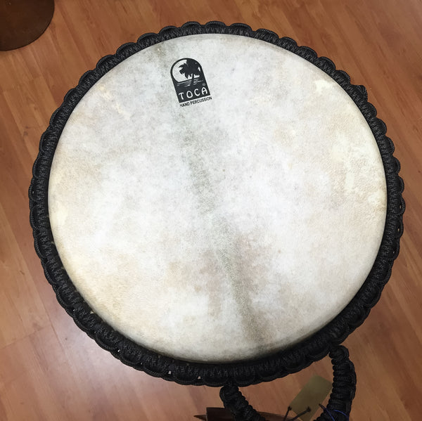Toca Greenbrier Djembe + Gig Bag