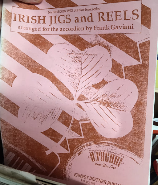 Irish Jigs and Reels for Accordion