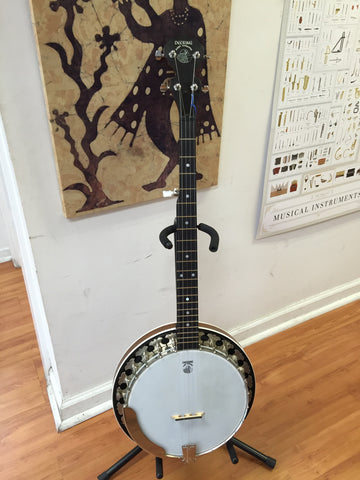 Deering Boston 5-string banjo w/foam case (used)
