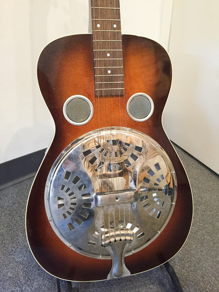 Lebeda JL632 Squareneck Resonator Dobro Guitar (used)