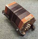 Stagi 18-button English mini concertina