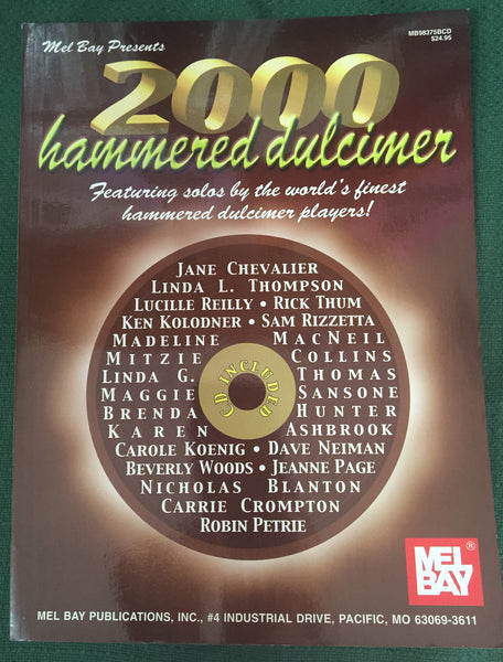 2000 Hammered Dulcimer (Book + CD)