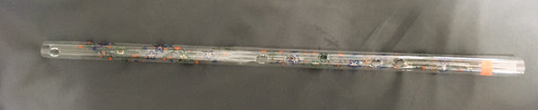 Hall Crystal Flute in Low D, Taj Design