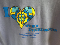 I Love Weird Instruments HMT T-shirt
