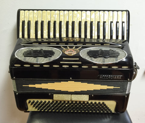 Accordiana by Excelsior Model 306 120-bass Accordion w/pickup (used)