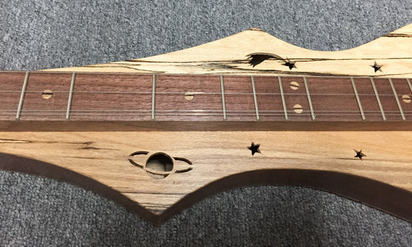 Robert Worth Cosmic Lap Dulcimer, Walnut