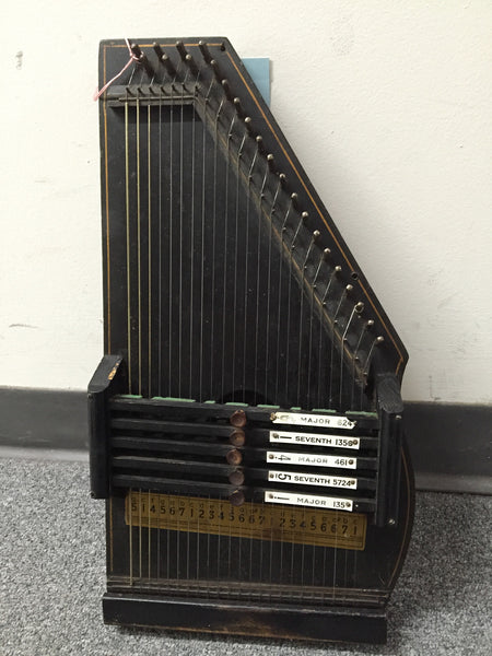 Early Oscar Schmidt 5-Chord Autoharp (used)