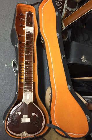 Srishti Sitar with case (used)