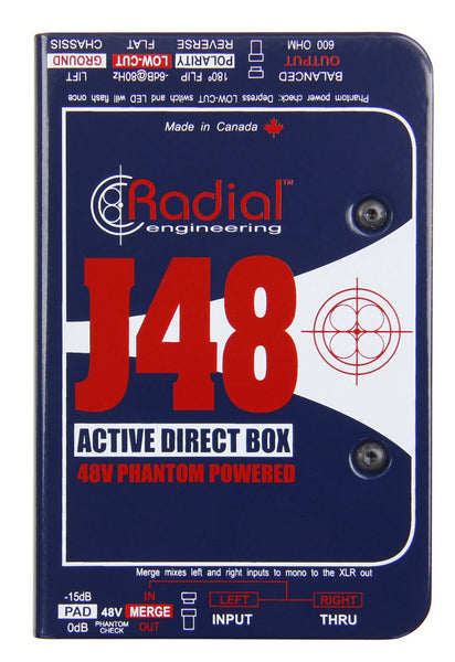 Radial J48 Active Direct Box