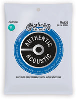 Martin MA130 SP Silk and Steel Authentic Acoustic Guitar Strings Silk and Steel