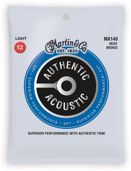 Martin SP 80/20 Bronze Authentic Acoustic Guitar Strings