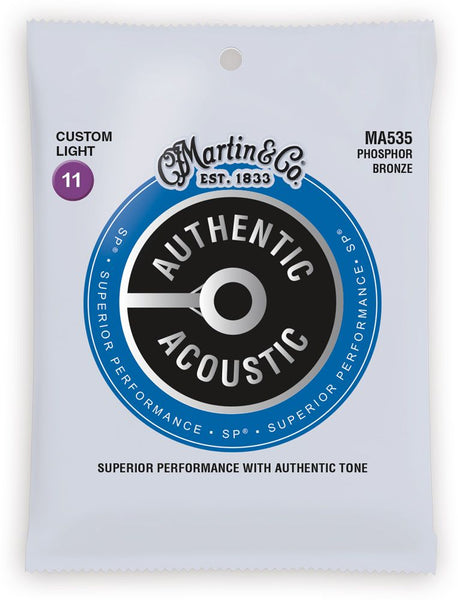 Martin SP Phosphor Bronze Authentic Acoustic Guitar Strings