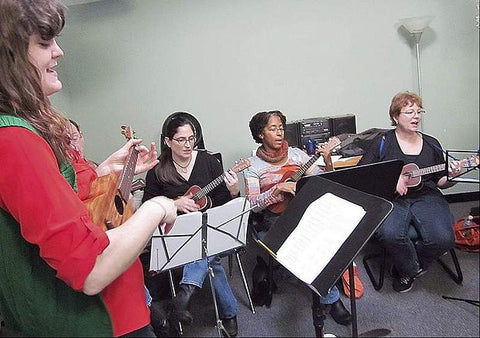 Thursdays Starting March 2 - Ukulele Orchestra 2.0 w/Maureen Andary