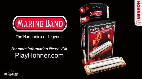 Marine Band Harmonica by Hohner