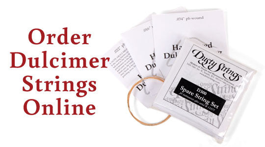 Individual Strings for Hammered Dulcimers