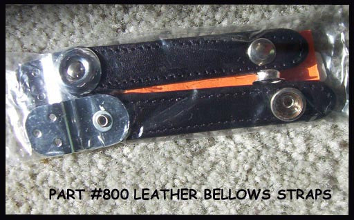 Accordion Bellows Straps #800