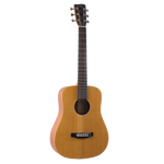 Recording King RD-A3MQ Mini Dreadnought Travel Guitar