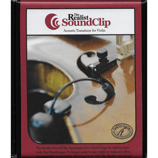 Realist SoundClip Pickup for Violin