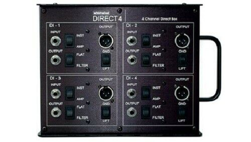 Whirlwind Direct4 Passive 4-Channel DI Box (used)
