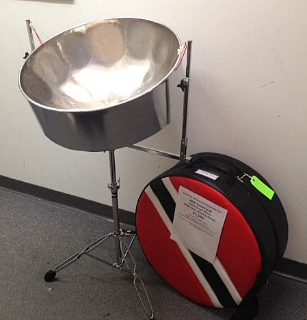 Tenor / Lead Steel Drum with case & stand