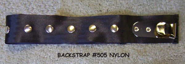 Accordion Back Strap