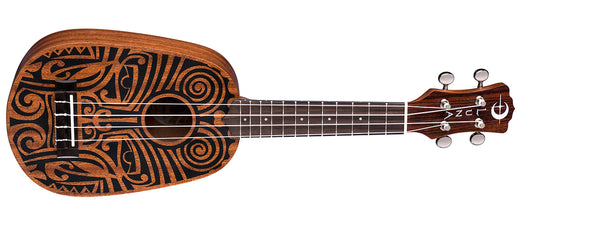 Luna Tribal Pineapple Ukulele