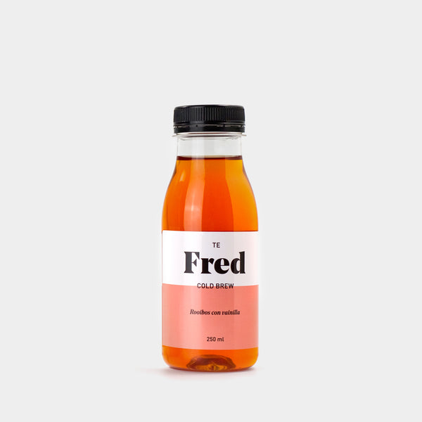 Te Fred Rooibos con vainilla. Pack 8