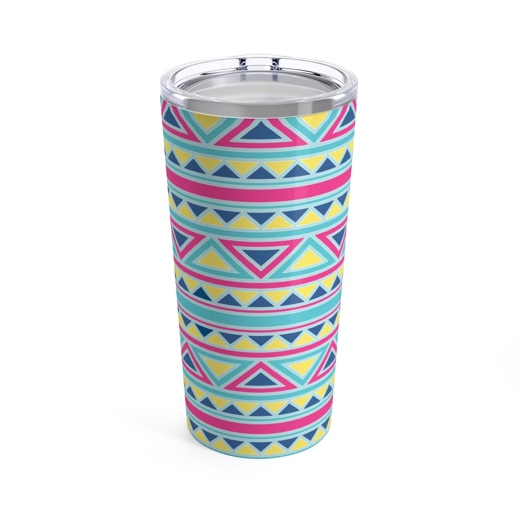 Triangles and Stripes Tumbler 20oz