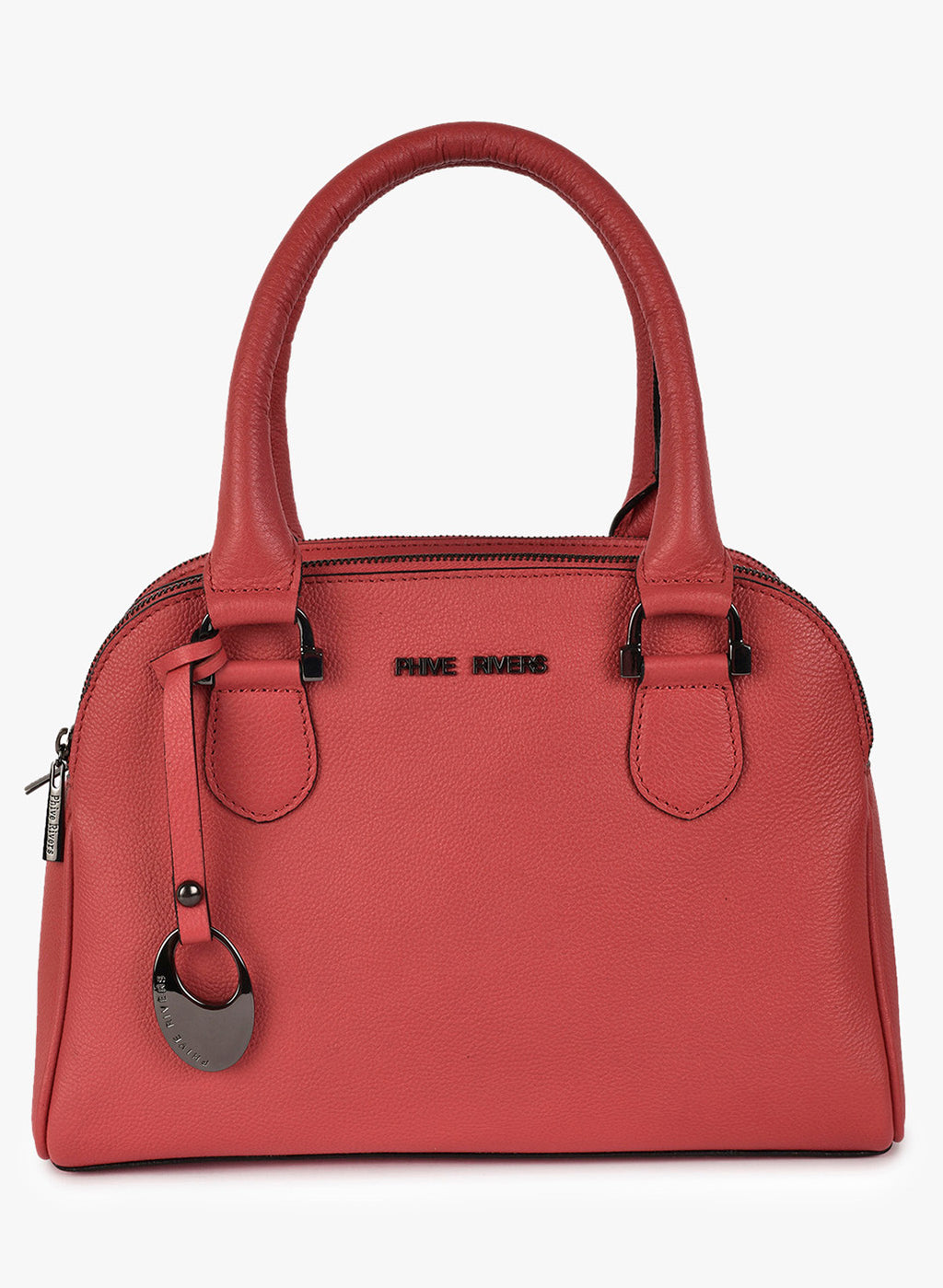 Phive Rivers Women's Leather HandBag (Pink_PR542)