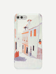 Town Pattern iPhone Case