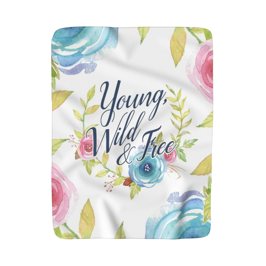 Young Wild and Free Blanket